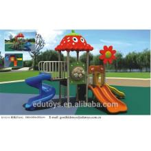 EN71 Approved Outdoor Spielplatz Plastic Amusement Slides B10216