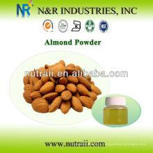 Volumen confiable del aceite de almendra del surtidor