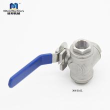 Válvula de presión de agua de calidad superior 304 / 316L