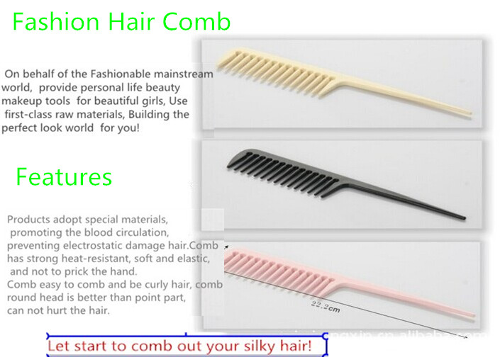 wide toothed hair comb