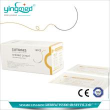 Charomic Catgut Surgical Nahtfaden mit Nadel