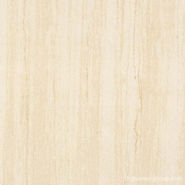 Wooden Pattern Beige Polished Porcelain Tile