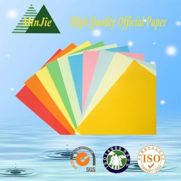 Papel colorido de la copia para la fábrica directa del papel del color sin procesar del libro