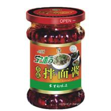 Nouilles aux champignons avec sauce chili