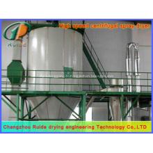 Tour de séchage par pulvérisation de silicate de sodium
