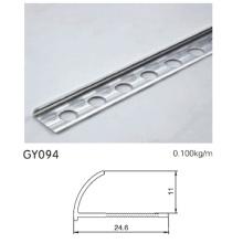 Escova de alumínio prata forma r aparar