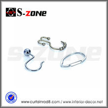 Szone curtain accessory iron curtain rod pin hook
