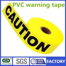 Fabricante de fita de advertência de PVC de uma ou duas cores