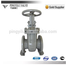 Carbon steel russia standard cuniform water pipe gate valve pn16