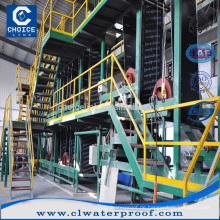 Hochwertige SBS / APP modifizierte Bitumen Abdichtung Membran Produktionslinie Blatt Herstellung Maschine