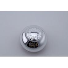 Top quality Acrylic silver high-end jar 50g