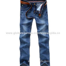 men's denim jeans, good washing,made of stretched fabric, various styles and colors are availableNew