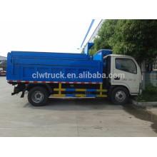 Dongfeng 3m3 caminhão de lixo pequeno, 4x2 china lixo caminhão