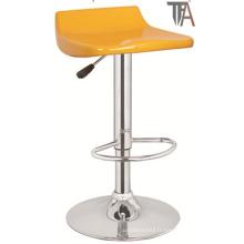 Tabouret de bar jaune moderne pour meubles de bar