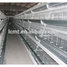 Cages en gros de batterie d'oiseau de prix pour des poules pondeuses