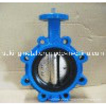 Epoxy Coated Cast Iron Gear Operated Butterfly Valve