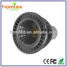 Aluminio Shell 5W COB foco GU10 Spotlight