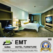 Ensemble de lit king-size luxueux pour chambre à coucher (EMT-A1204)