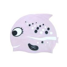 Мультфильм Силиконовой резины плавания шляпа для малыша