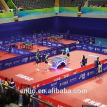 Suelo de tenis de mesa de vinilo Enlio con ITTF