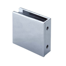 Stainless Steel Glass Panel Clamp Straight Corner