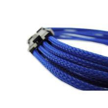 Синий 8-контактный разъем PCI-Е видеокарты компьютер удлинительный кабель