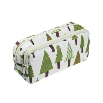 DOUBLE ZIPPERS GENERAL PENCIL CASE-0