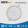 16W 6inch LED Frosted Downlight Anti-Glare 50hz Die-Casting Aluminum Heatsink Ra80 AC100- 260V