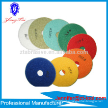 High uality Wet Diamond Polishing Pads for polishing marble, granite