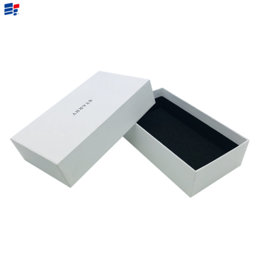 China for Electronics Two Pieces Paper Box White Electronics Cardboard Paper Box supply to Spain Importers