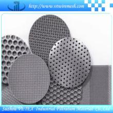 Malla de alambre sinterizada moldeada, procesada y soldada fácil