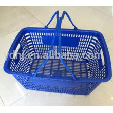 Оптовая Большой Емкости Новые Пластиковые Супермаркет Продуктовый Корзина Руки Покупкы