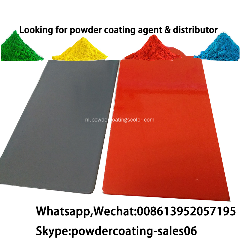 Hot selling Pure Epoxy zinkrijke primer poedercoating
