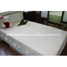 100% pura lana tejido lana manta Hotel (NMQ-HB002)