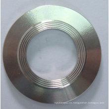 Junta exterior y anillo interior ASME B16.20