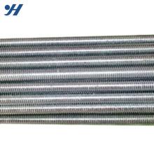 Мягкая сталь Стойка новая мода канал двойной конец гальванизированный продетый нитку штанги вес