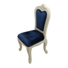 маленький белый детский письменный стул