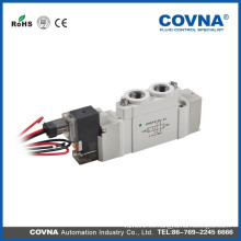 SY5120 serie 220V electroválvula neumática tubería directa