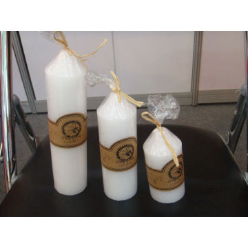 OEM/ODM Supplier for for Church Candles Pearl white white church candle export to Netherlands Wholesale