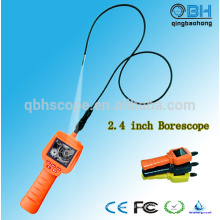 5.5mm Video Recorder Borescope Endoscope with 2.4 inch LCD Screen