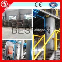 Alibaba Melhor venda de resíduos de pneus de pirólise de carbono processamento preto