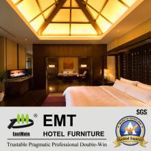 Wooden Art Modern Design Bedroom Furnitute Set (EMT-HTB08-8)