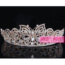 Real diamante de beleza desfile castelho casamento tiara coroas