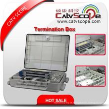 Caixa terminal de alta qualidade de W-48 FTTX / caixa de distribuição de fibra óptica