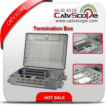 Caja de terminales W-48 FTTX / Caja de distribución de fibra óptica / ODF