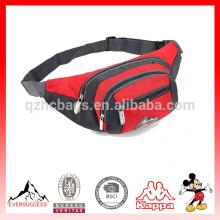bolso de la cintura del deporte, paquete de la cintura corriente, paquete fanny personalizado