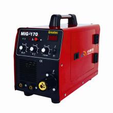 Máquina de soldadura MIG / MMA do inversor (MIG170)