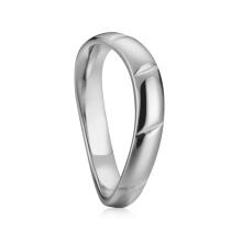 Rings for Men Silver Stainless Steel Ring Blank Ship Hop Jewelry Rings