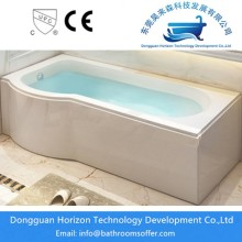 Supply for Skirt tub Freestanding bath and shower combo supply to Portugal Exporter