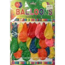 JML fatory прямые дешевые горячие продавая воздушные шары латекса напечатанные воздушные шары для партии